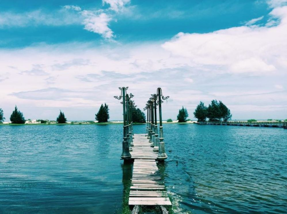 địa điểm du lịch tại hồ tràm